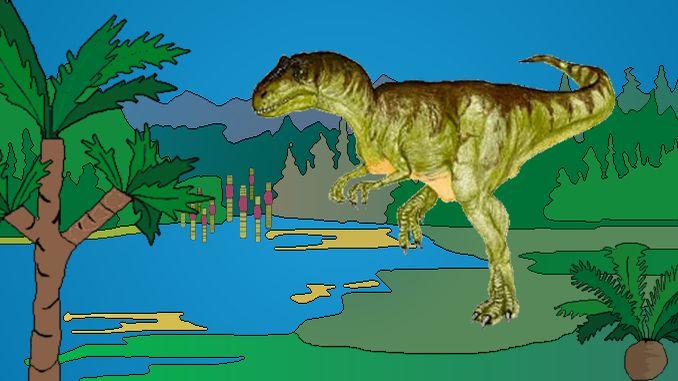 Allosaurus (Seltsame Echse)