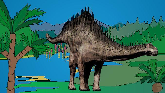Diplodocus (Doppelbalken)