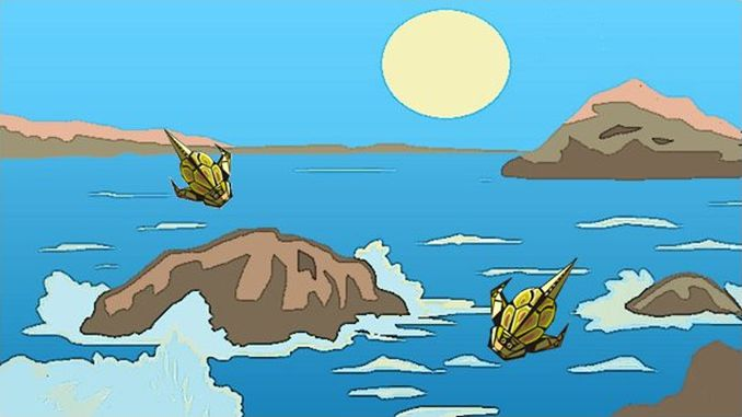 Silur, üppiges Leben im warmen Meer