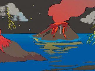 Proterozoikum, das Leben beginnt im Meer