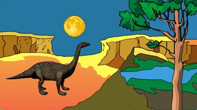 Riojasaurus (Echse aus Rioja)