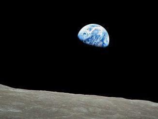 Erdaufgang im Orbit um den Mond (Apollo 8)